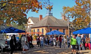 Market Square at Colonial Williamsburg - photo by Terri Agner