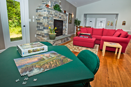 Game room Rock Creek Villas credit Terri Aigner